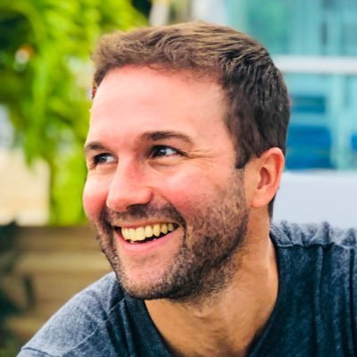 John Lee Dumas Smiling