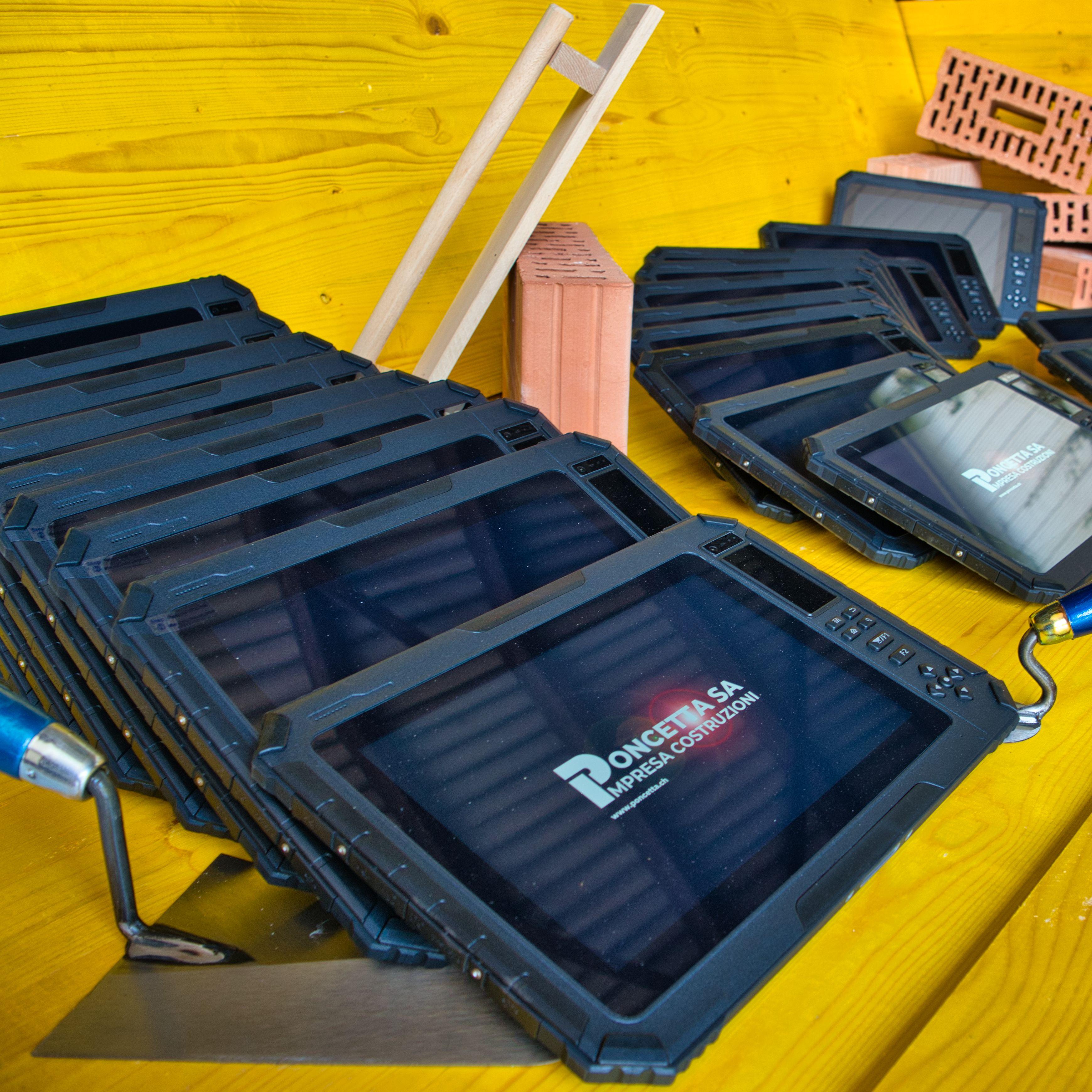 Poncetta SA Tablet nel settore delle costruzioni, innovazione