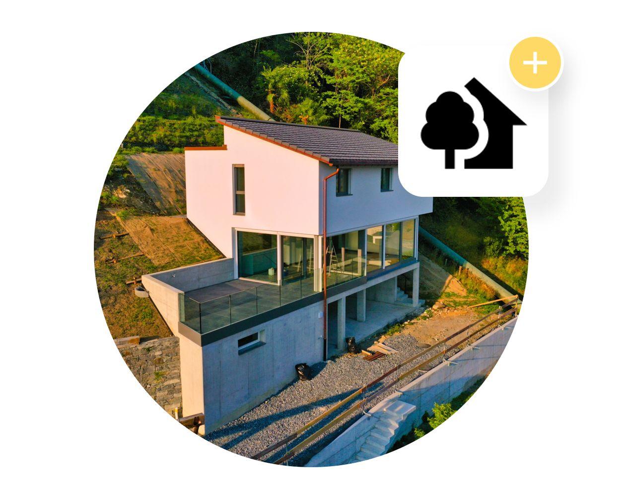 Nuova casa a Gordola, Ticino