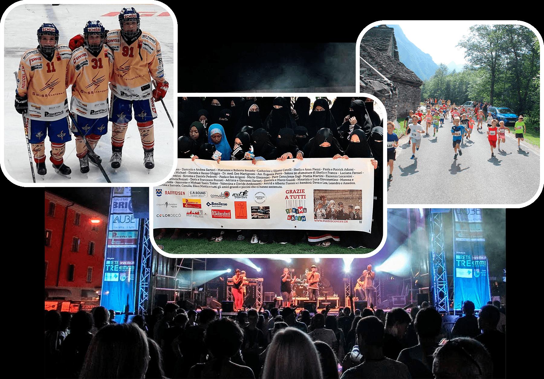 Sosteniamo Ragazzi Hockey, aiuto umanitario, corsa d'orientamento, eventi di beneficienza