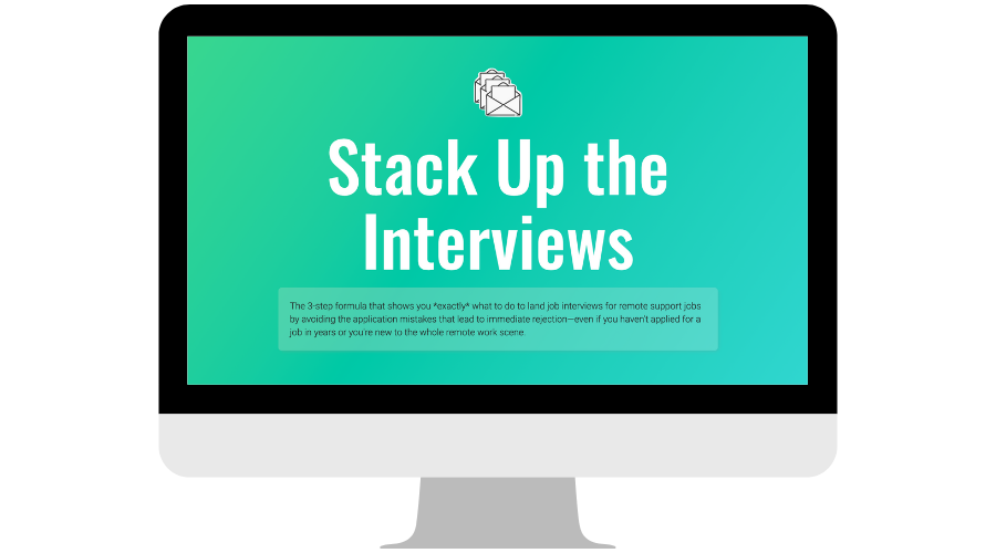Stack Up the Interviews homepage screenshot