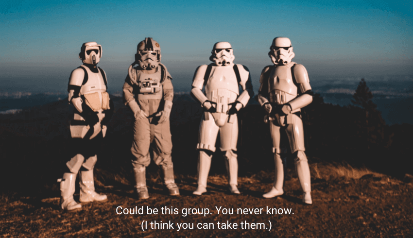 The short listers just happen to be storm troopers. Maybe now people will stop underestimating them.