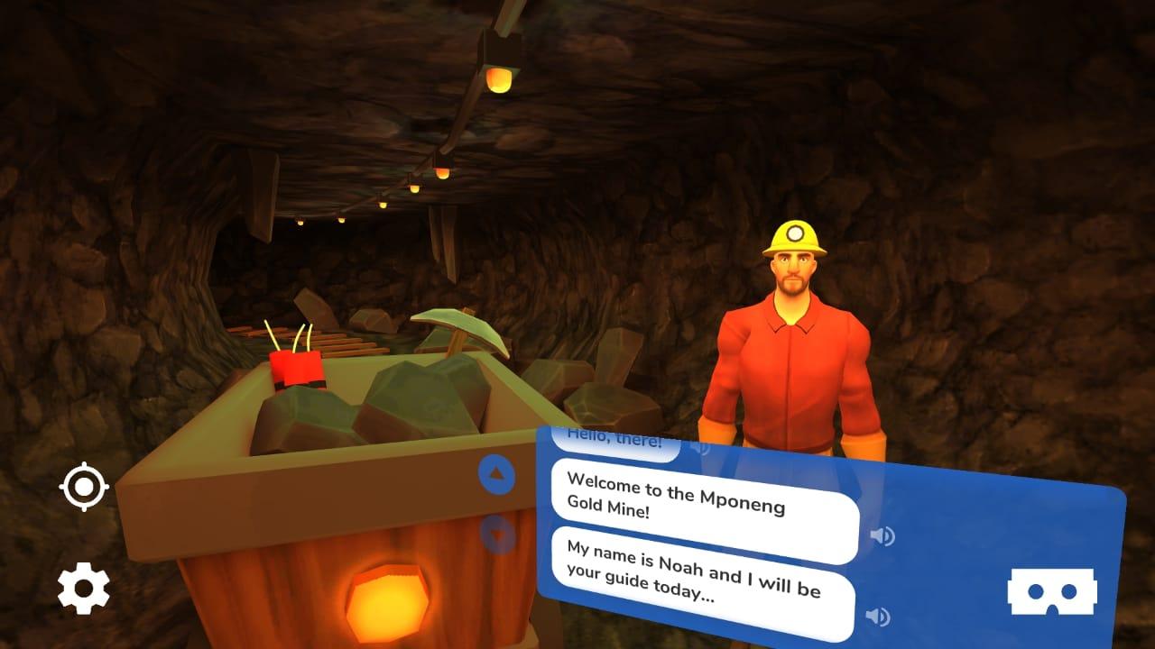 Aula bilíngue planeta terra com realidade virtual
