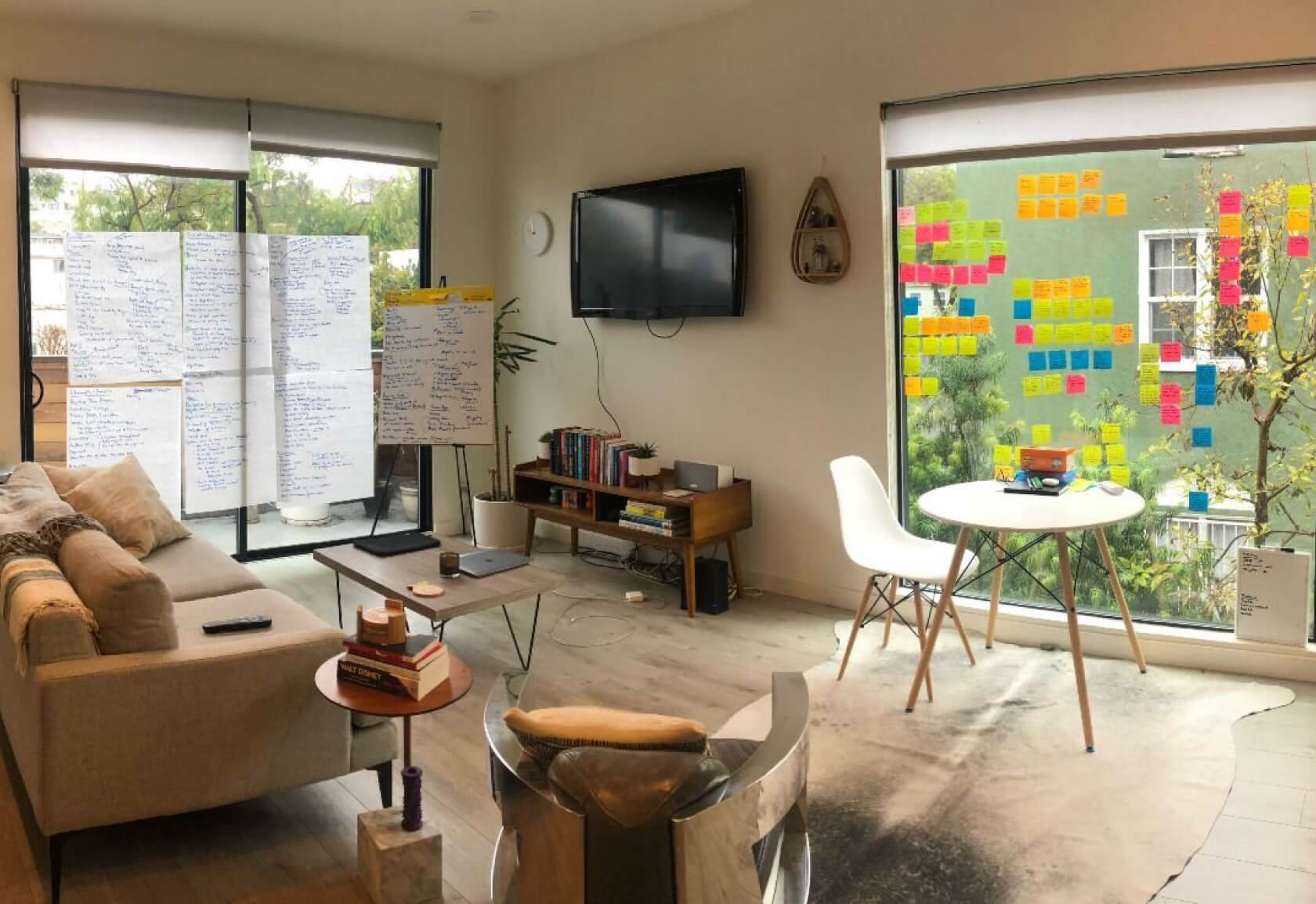 Running a remote workshop, but still using a physical space