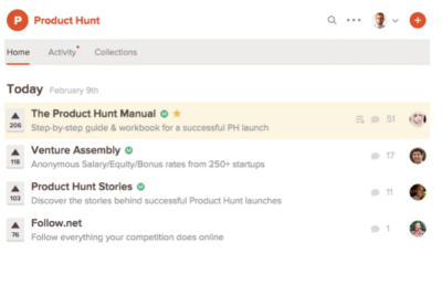 product hunt content user experience
