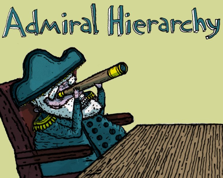 Admiral Hierarchy ruins meetings