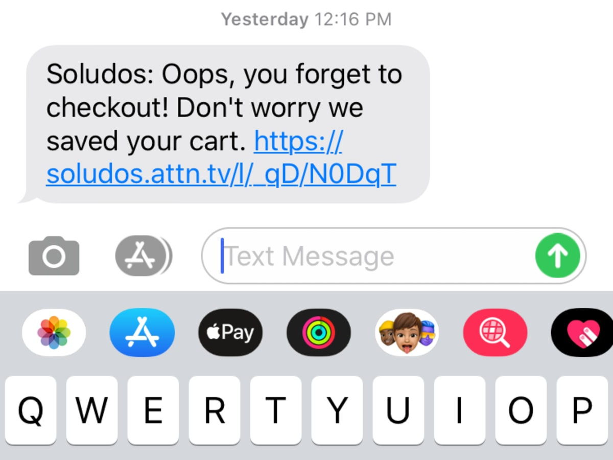Hidden Marketing: Abandoned Carts