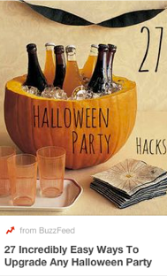 BuzzFeed Pinterest Strategy - 27 Halloween Party Hacks