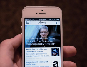 Circa news app - content experience and strategy