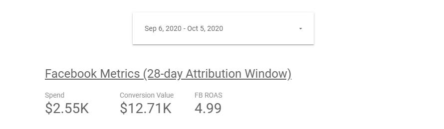 28-day attribution