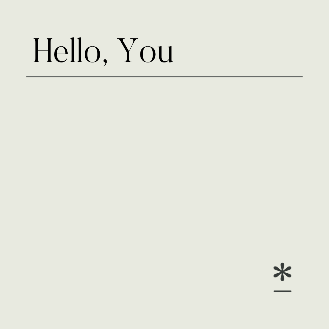 A creative copywriter saying a big hello to you.