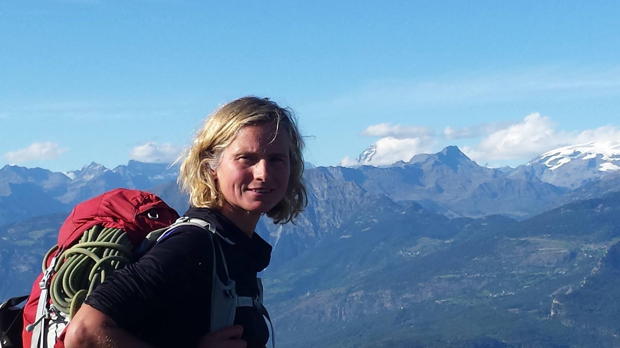 Your mountain guide Katja Deutsch touren Aostatal