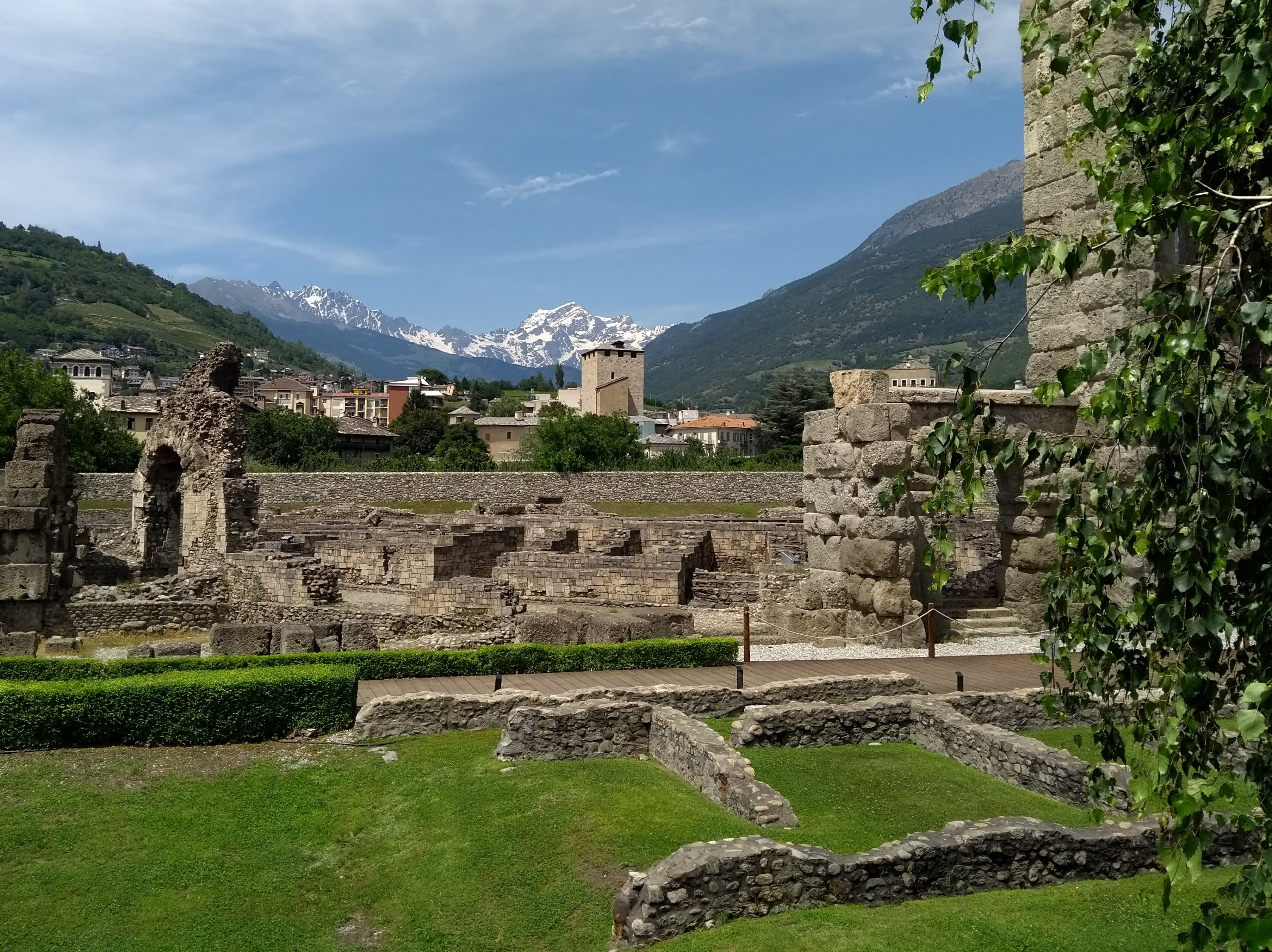 Roman ruins in Aosta things to do