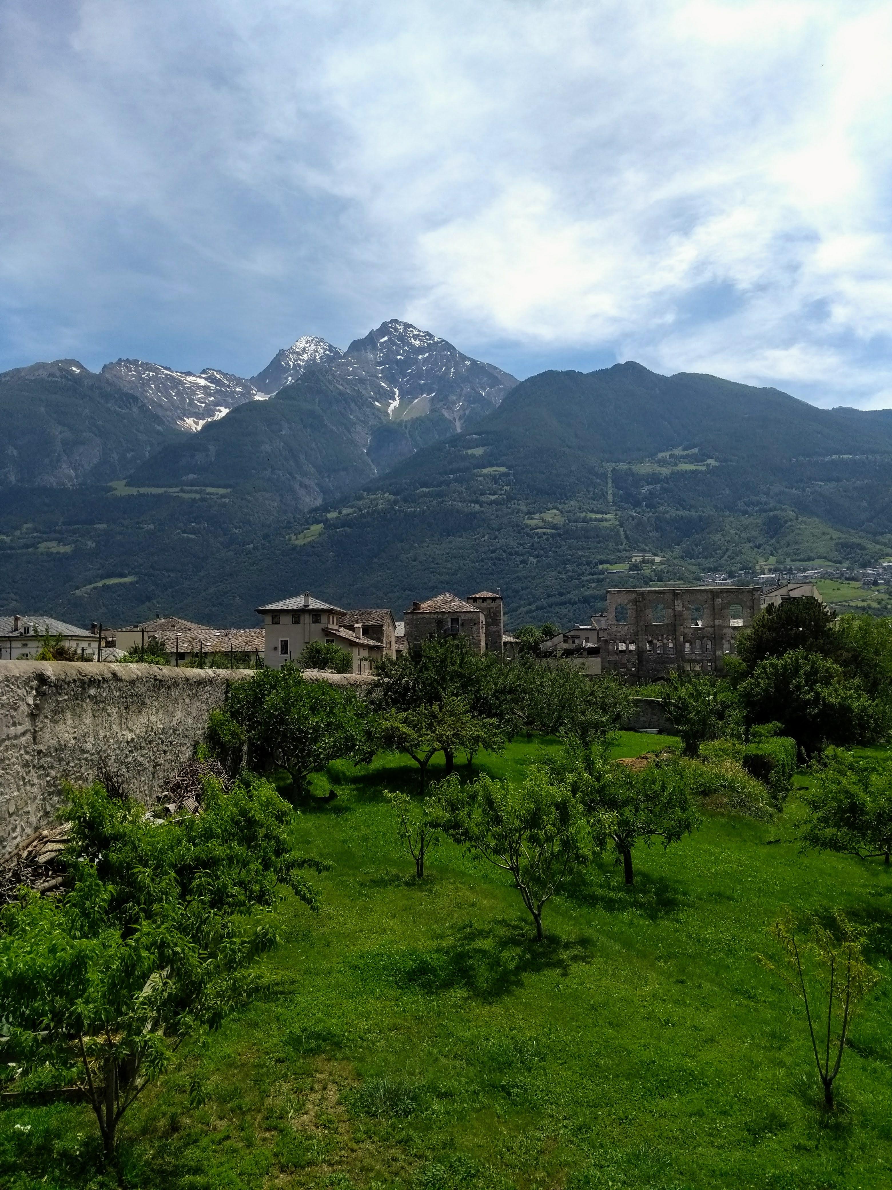 Aosta views mountain walks and city tours