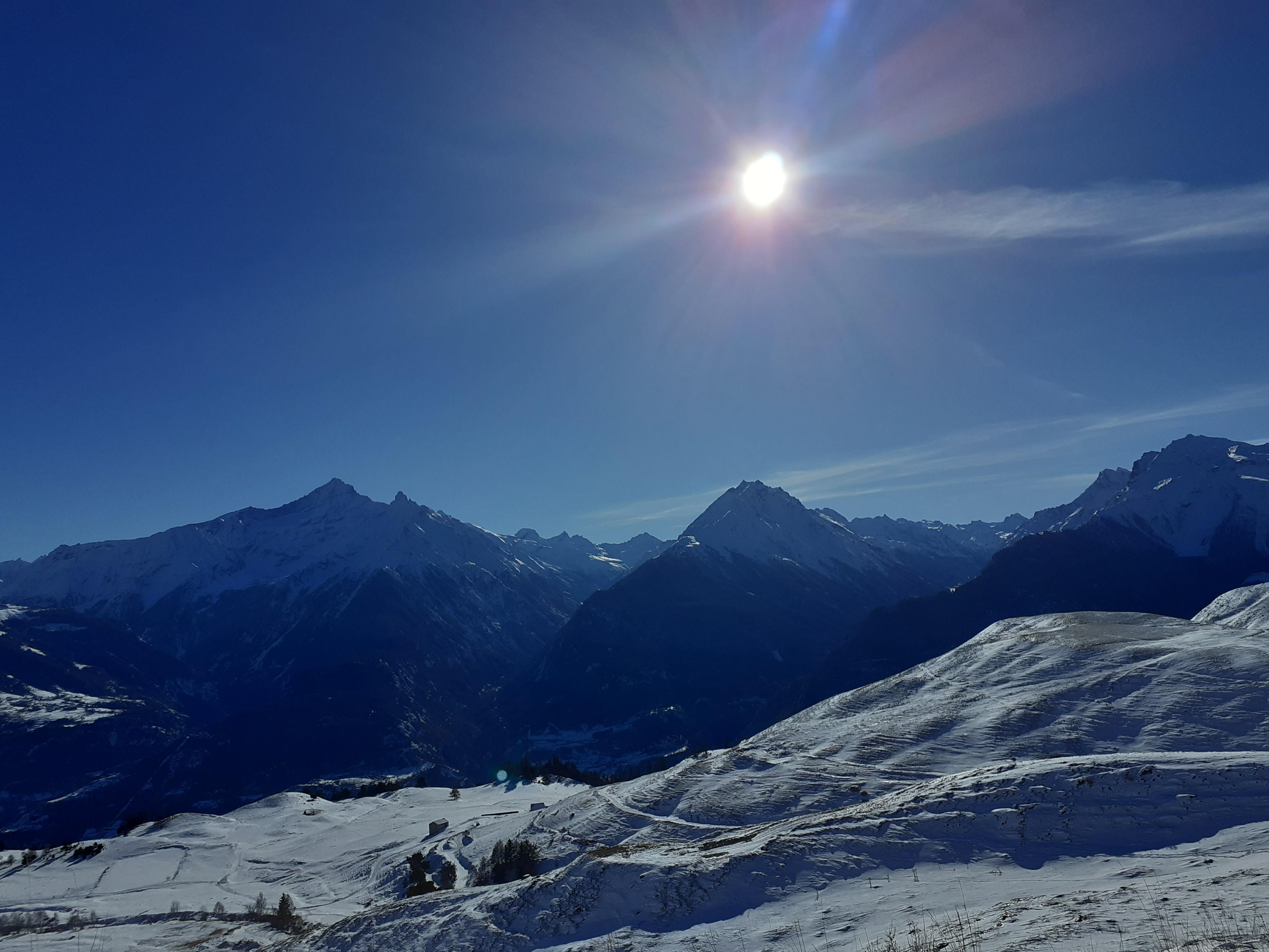 aosta panoramic mountain walk