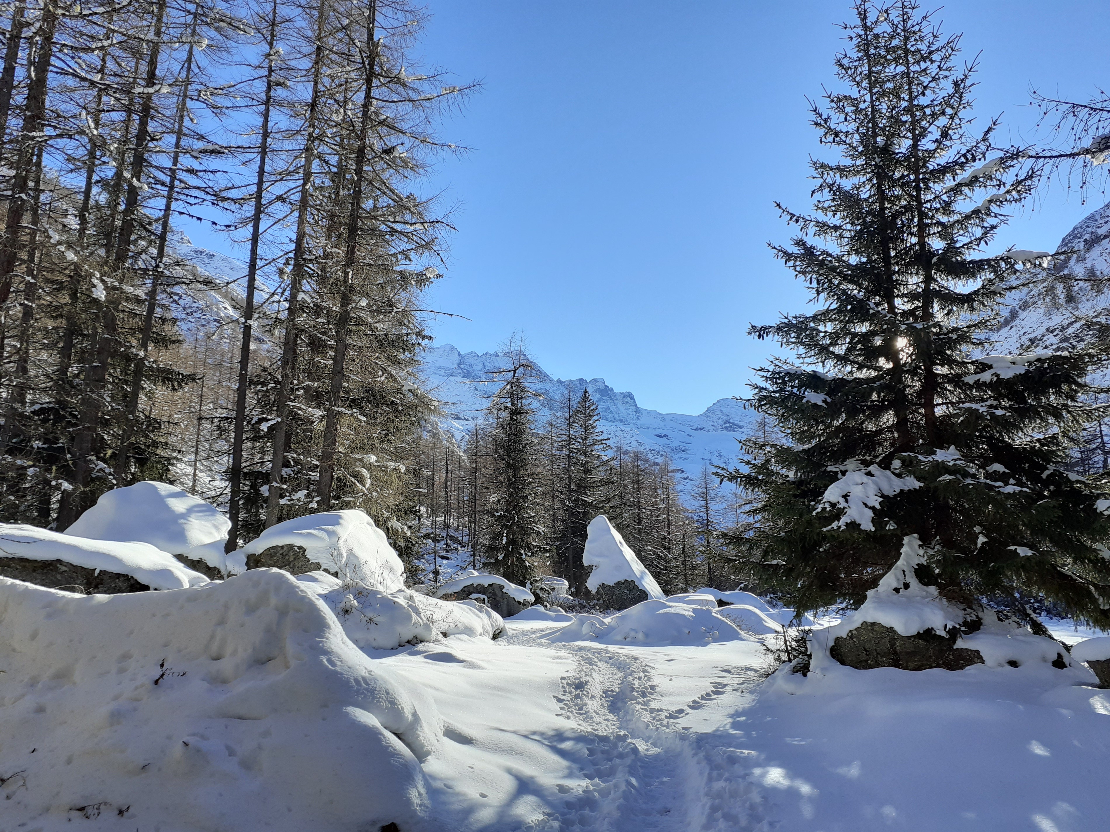 visit aosta winter trip