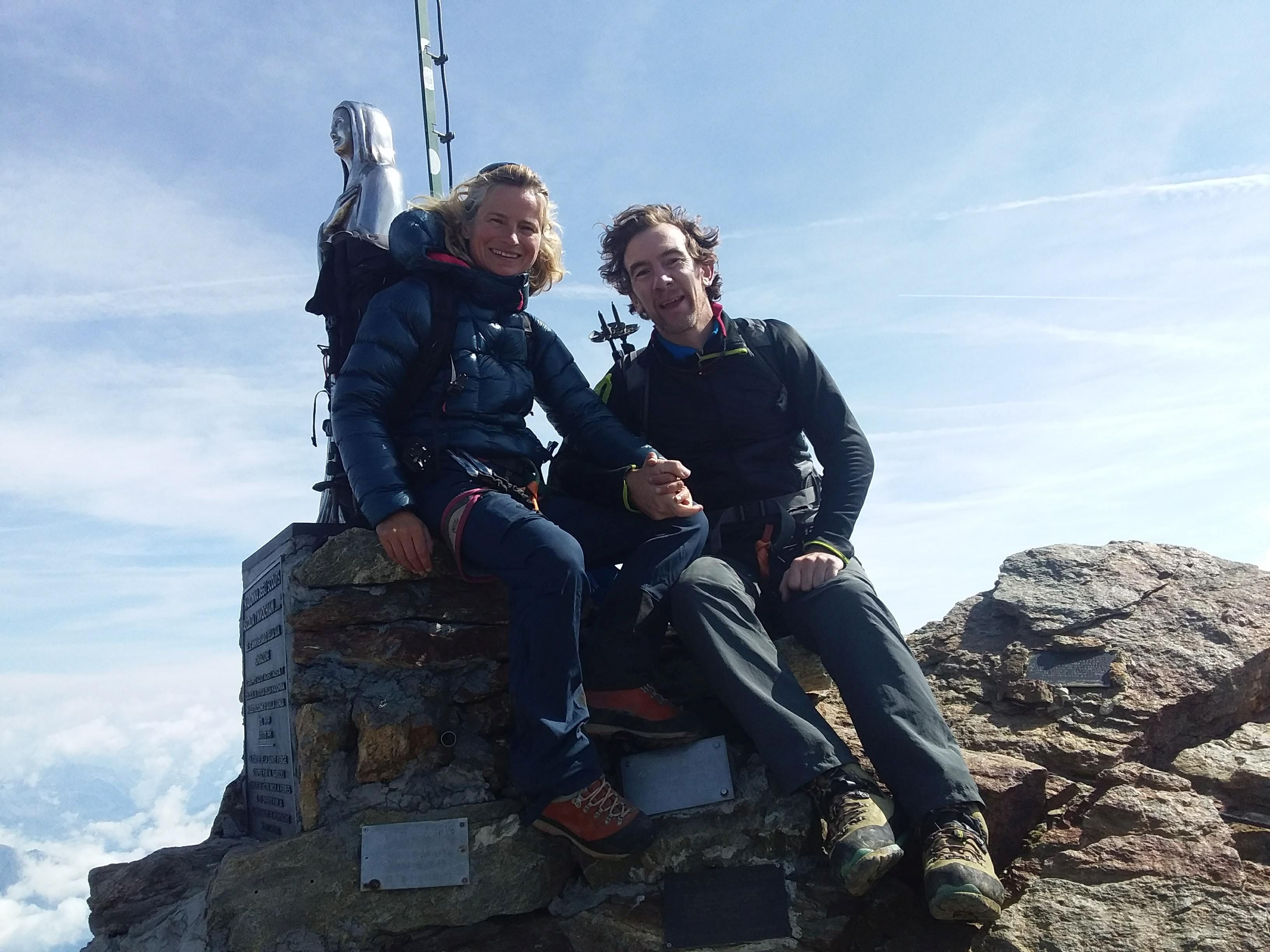 Qualified experienced guides of the Aosta Valley