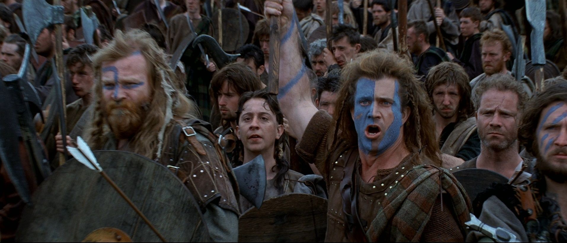 Scene from Braveheart