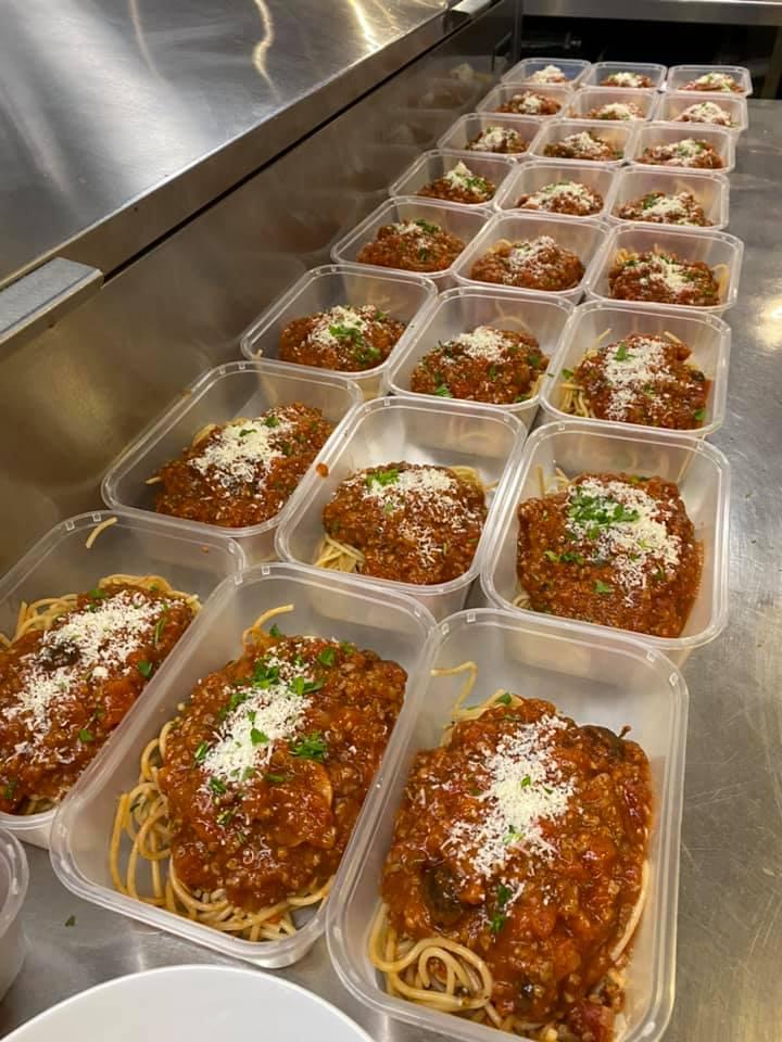 estbek house spaghetti bolognese