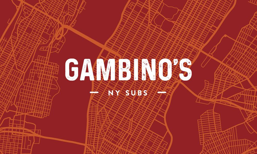 Logo & Branding for Gambino's NY Subs