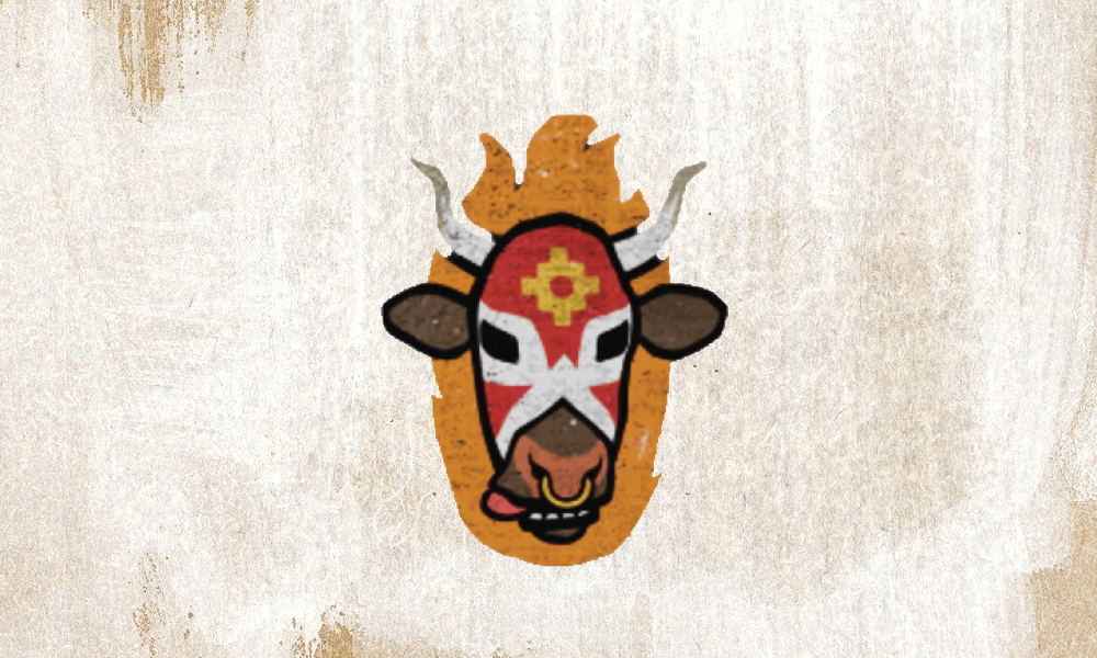 Lomo Libre's Toro Logo superimposed on a textured off-white background.