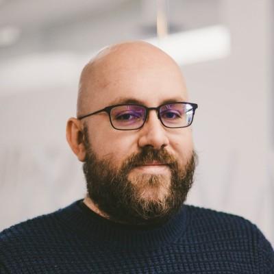 Aurelian Nicolae, He/Him, Co. Founder & Lead Product Engineer
