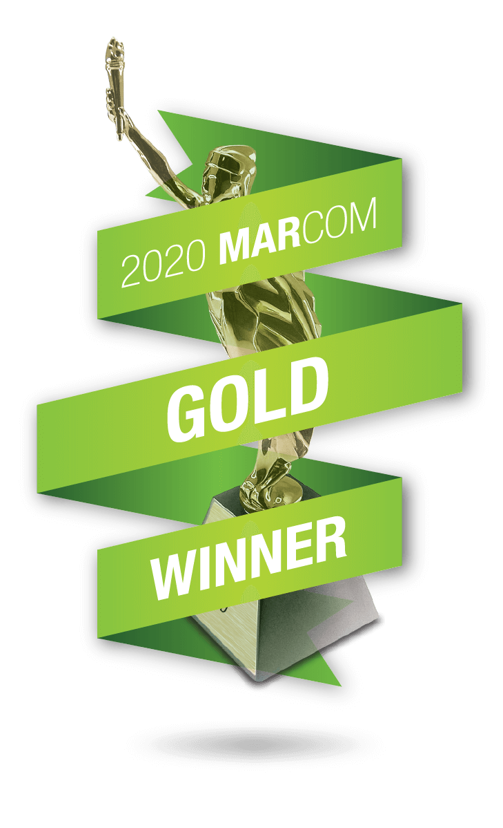 Marcom 2020 Gold Award Winner