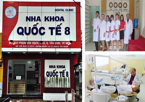 Nha khoa Quốc Tế 8 là địa chỉ chăm sóc răng miệng chất lượng tại TPHCM