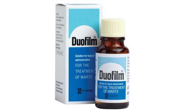 Thuốc Duofilm đặc trị mụn cóc mắt cá