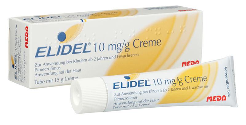 Thuốc bôi ức chế miễn dịch Elidel