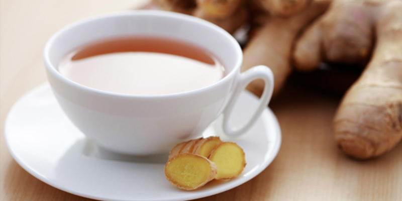 Trà gừng/ trà hoa cúc