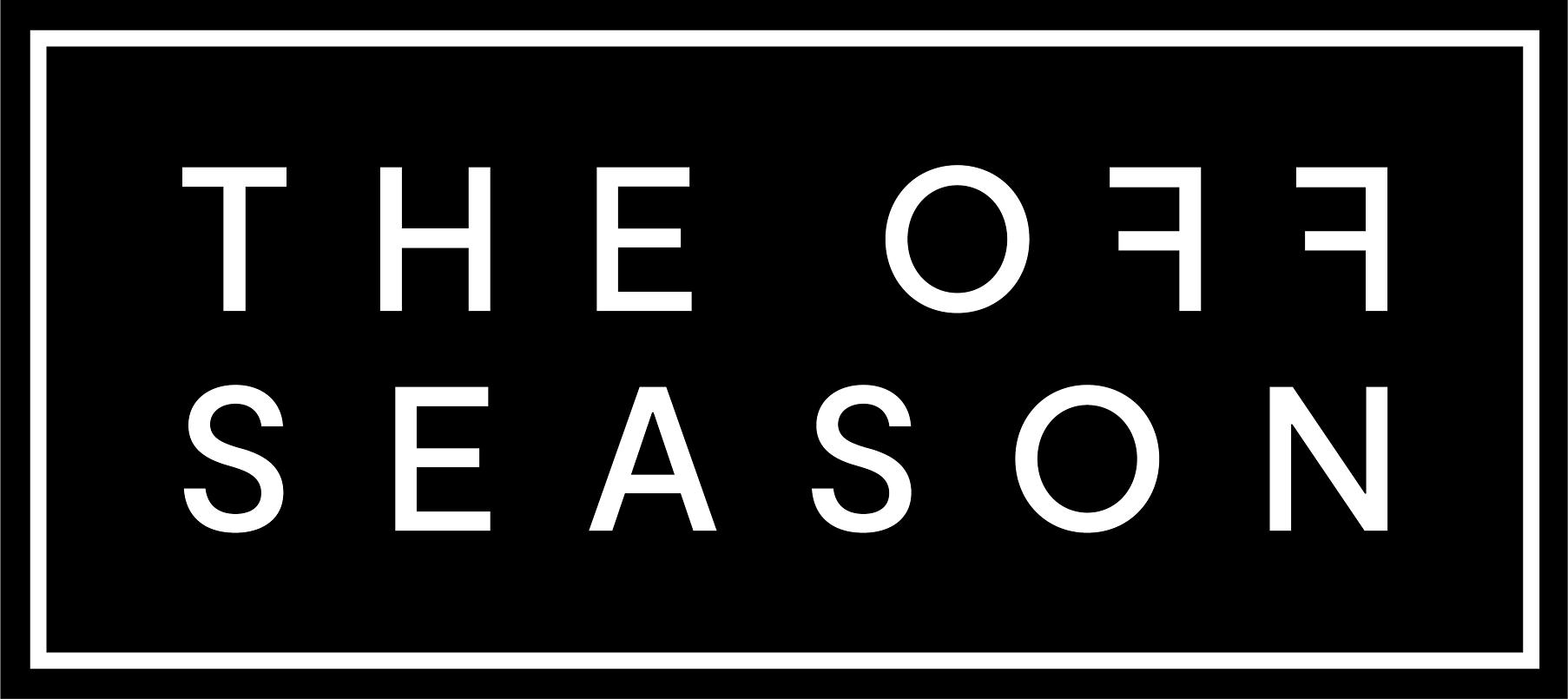 The Off Season logo for Tourism Tasmania's winter campaign