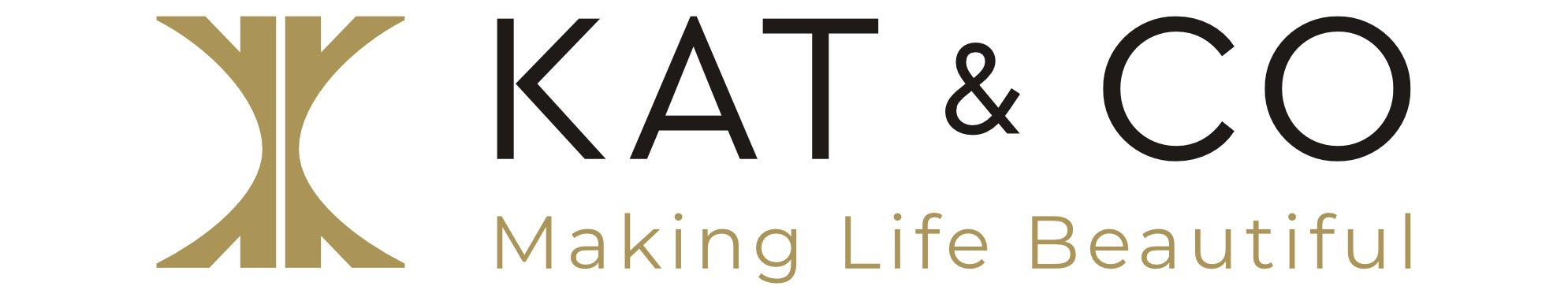 Kat & Co Making Life Beautiful Logo