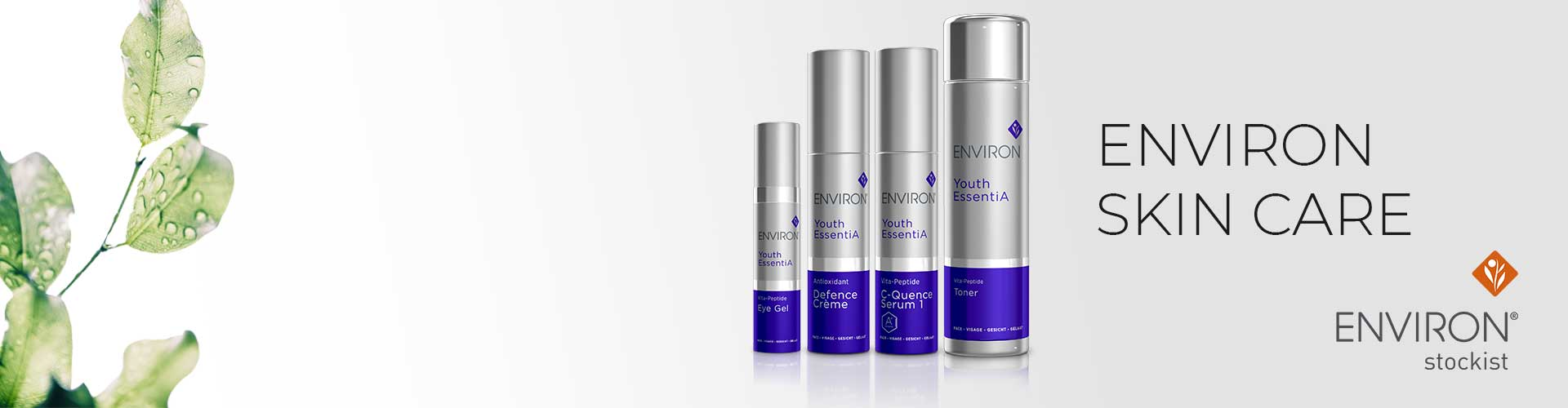 Environ Skin Care Product Banner
