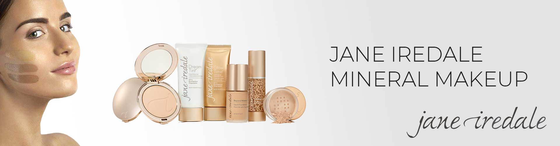 Jane Iredale Mineral Makeup Product Banner