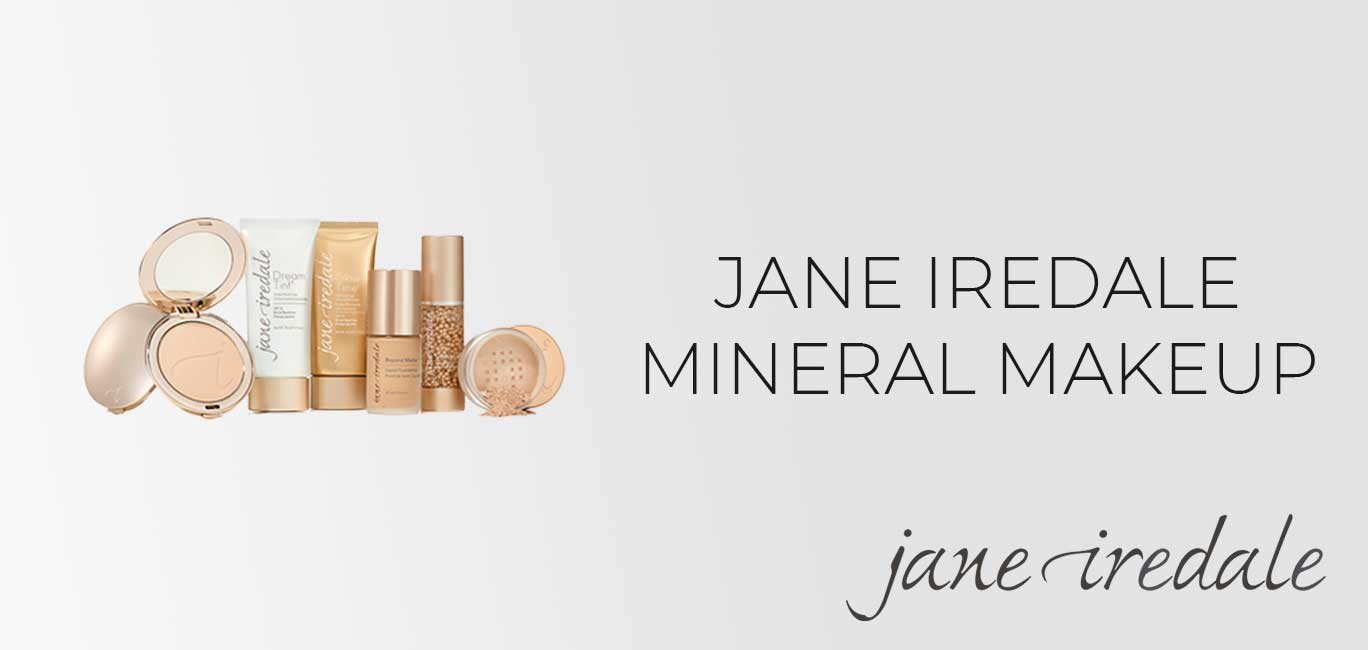 Jane Iredale Mineral Makeup Product Banner Mobile