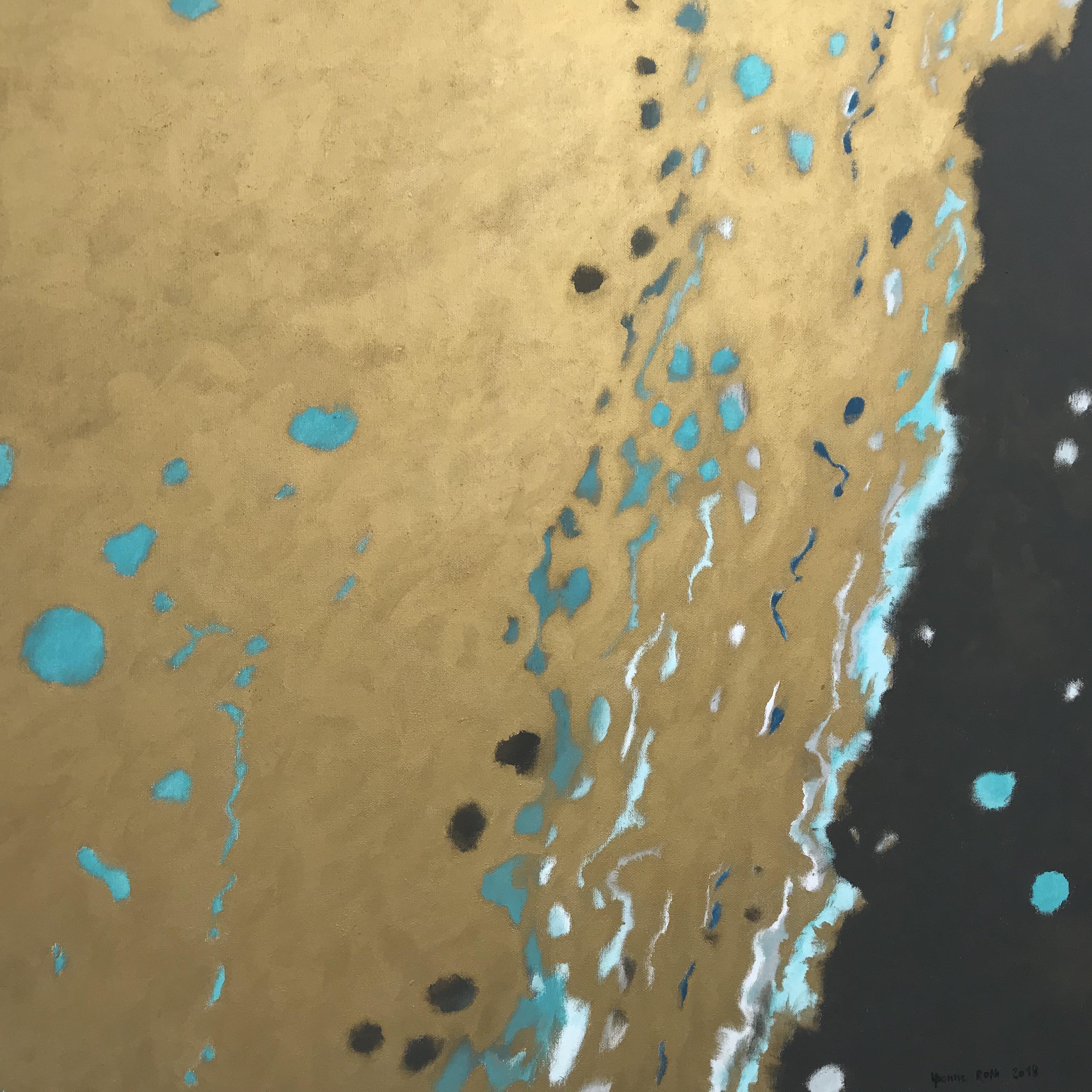 Spuren im Gold