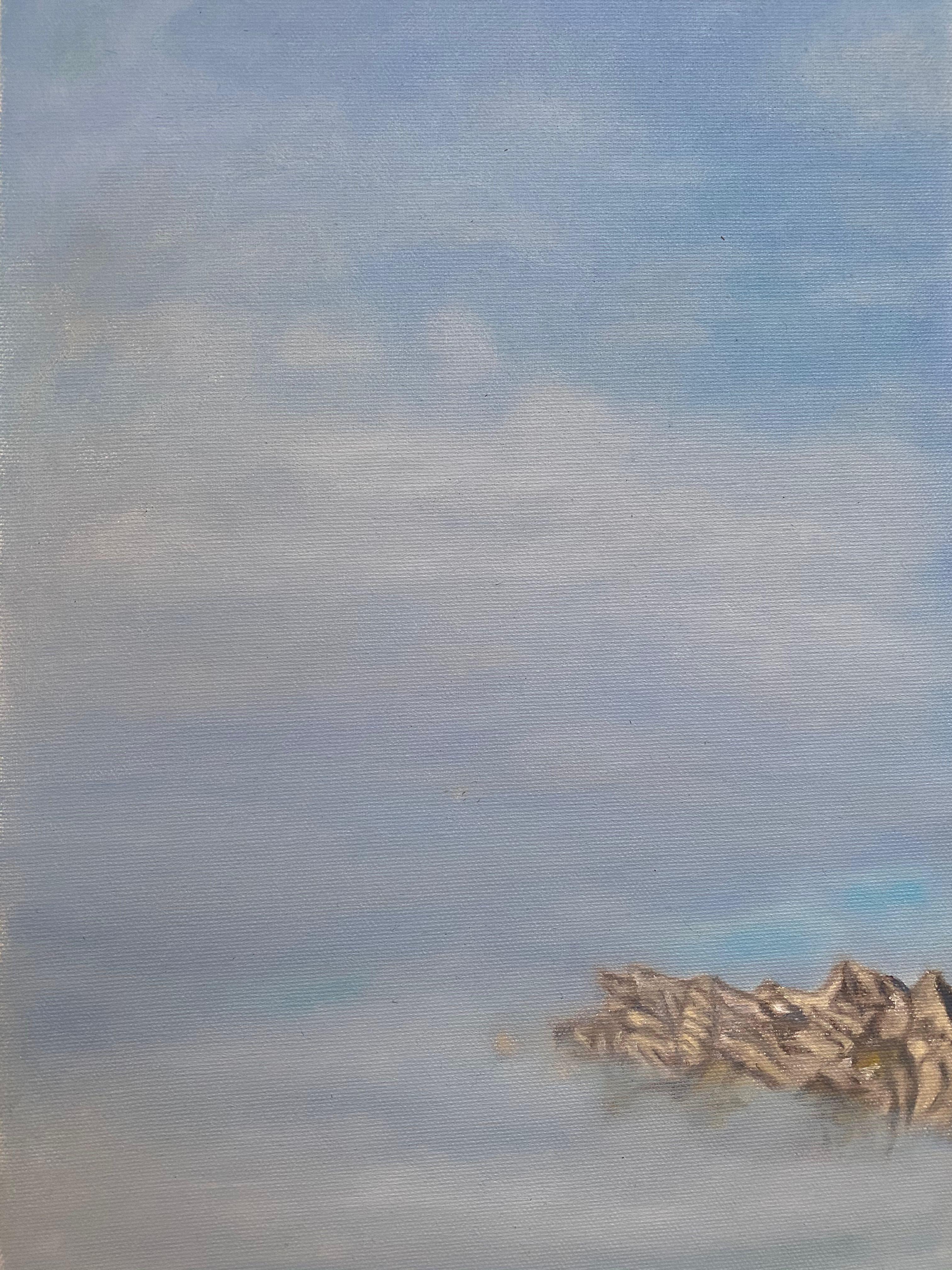 Gergkette in den Wolken