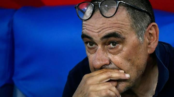 Sarri is sacked