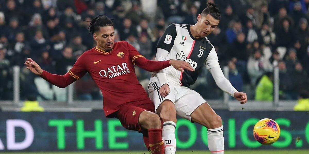 smalling and Ronaldo
