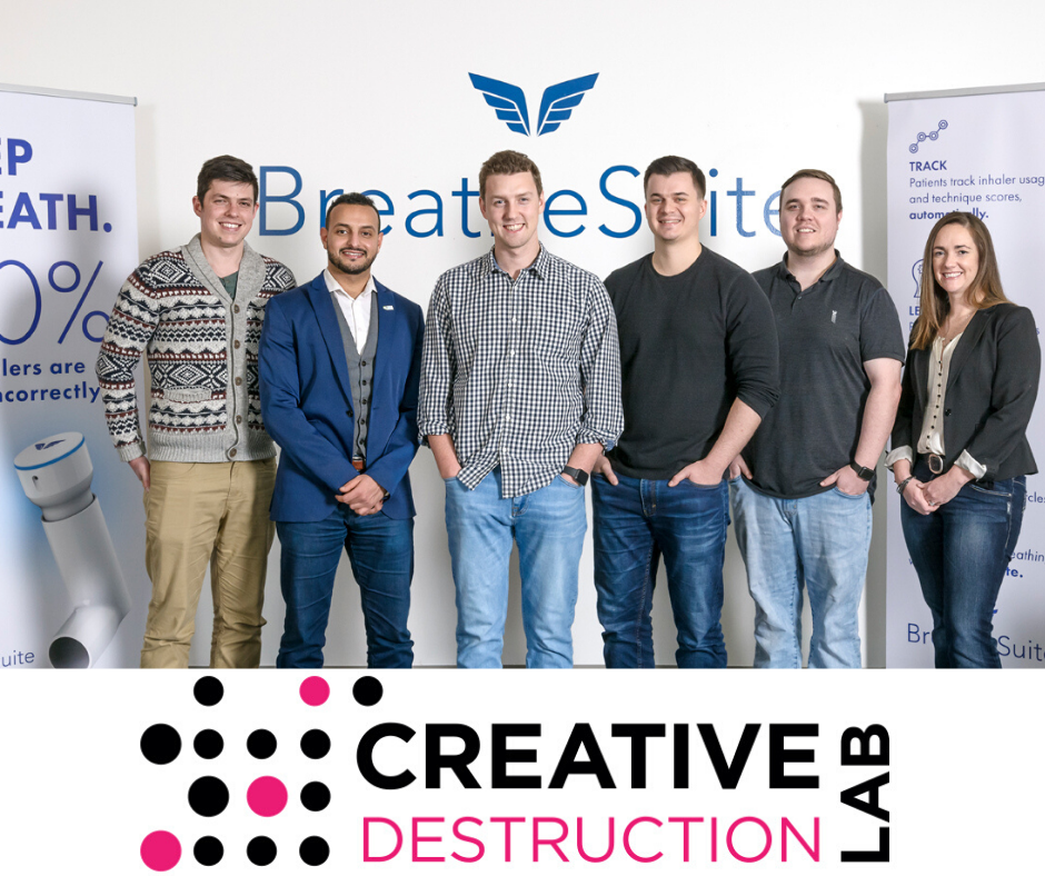BreatheSuite Announces Graduation from Creative Destruction Lab Accelerator