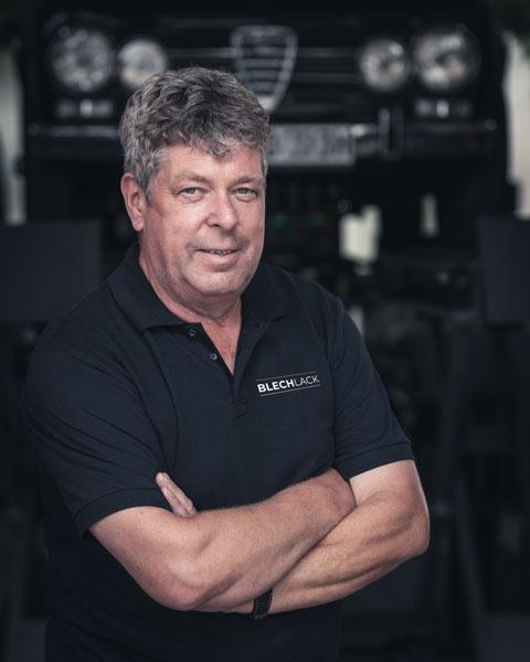 Portraitfoto von Inhaber Dirk Hoehne