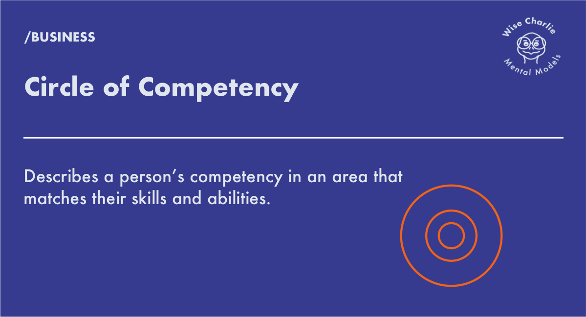 Circle of Competency