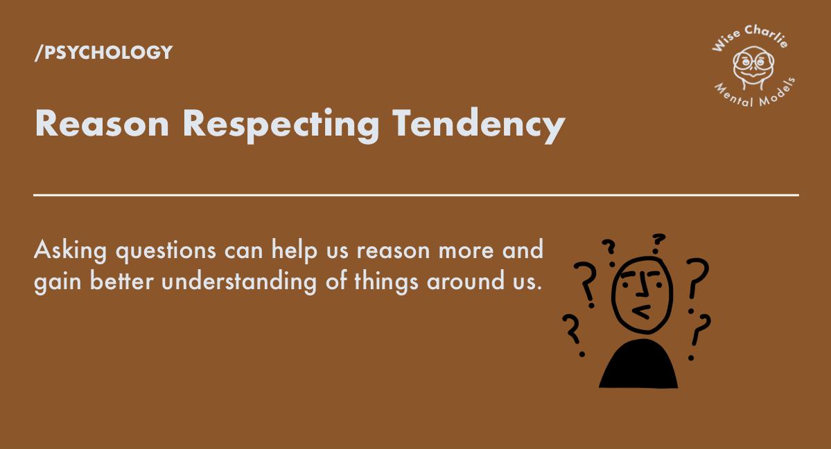 Reason Respecting Tendency