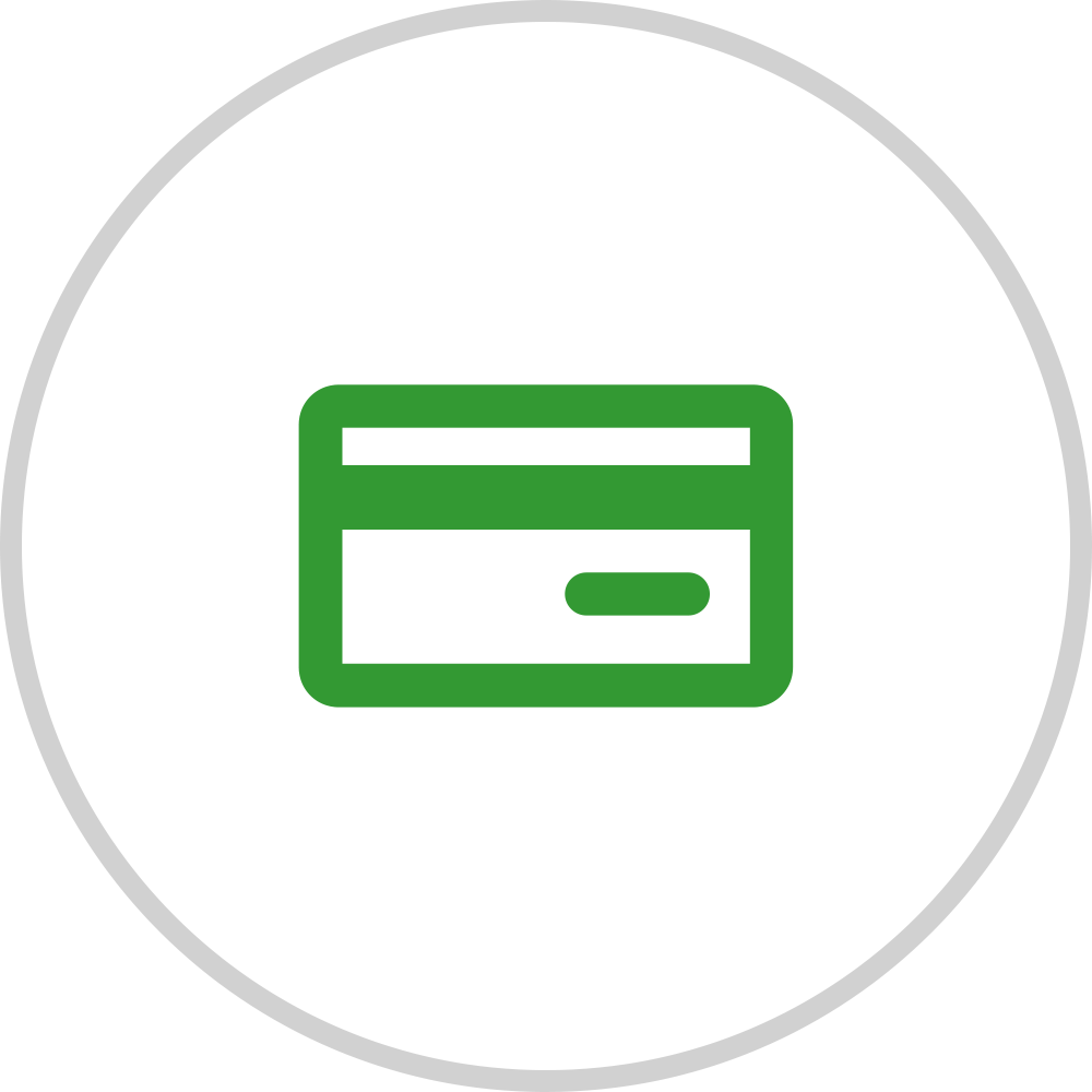 pay with a digital payment method icon.