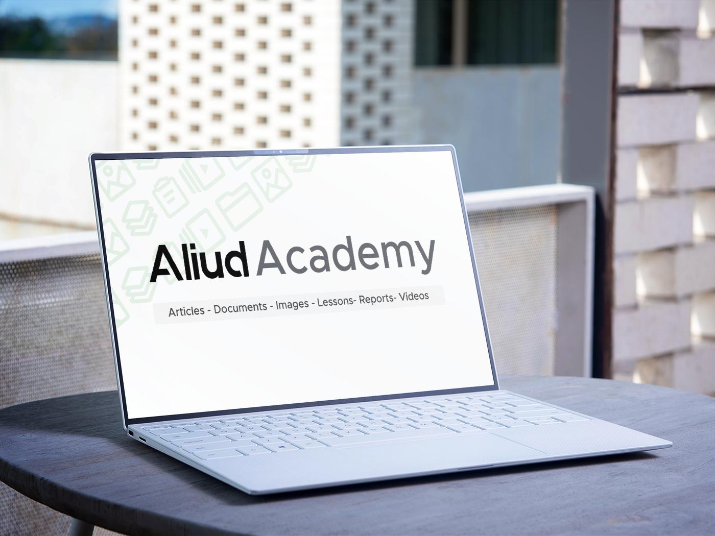 Aliud team member featured content on Aliud Academy