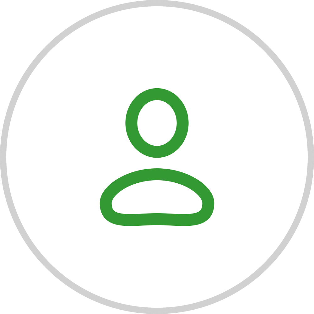 Aliud services icon for marketplace and request center orders.