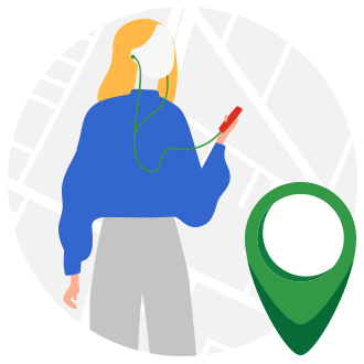 Tracking features right from your phone on aliud buyer app.