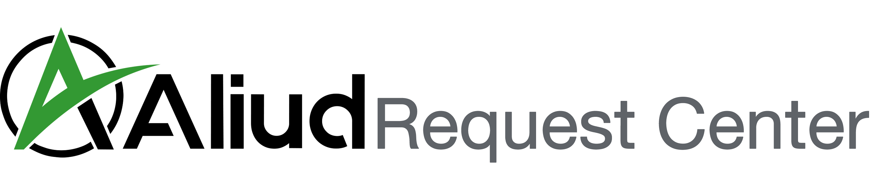 Aliud request center logo
