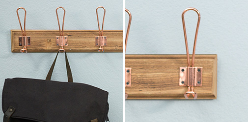 Handmade wall hangers on copper clips sold on Aliud.